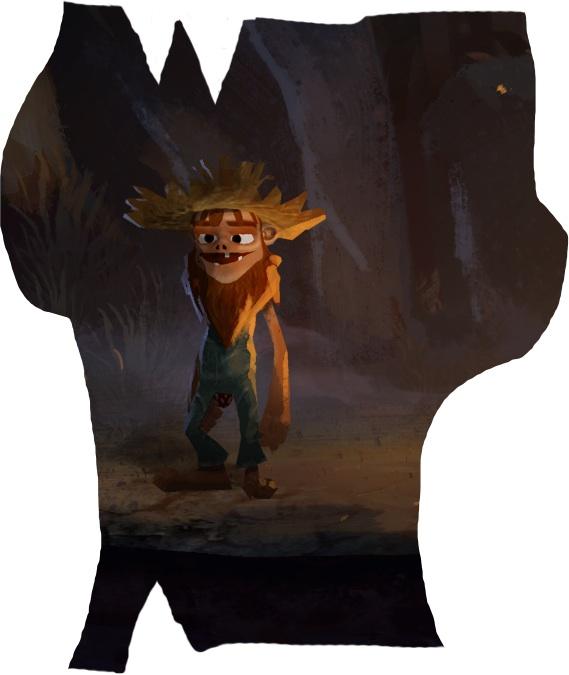 Ron Gilbert mostra nuovi artwork per il nuovo gioco con Double Fine