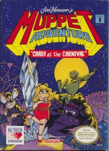Jim Henson's Muppet Adventure No. 1: Chaos at the Carnival per Nintendo Entertainment System