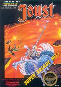Joust per Nintendo Entertainment System