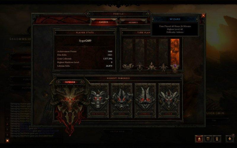 Diablo III finito in 60 ore