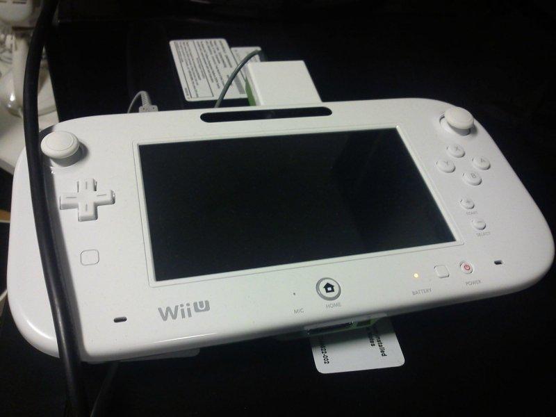 Wii U - Nuova immagine del controller con alcune differenze