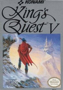 King's Quest V: Absence Makes the Heart Go Yonder per Nintendo Entertainment System