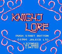 Knight Lore per Nintendo Entertainment System