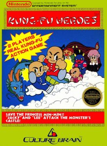 Kung-Fu Heroes per Nintendo Entertainment System