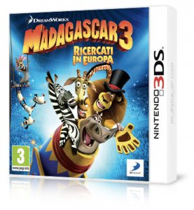 Madagascar 3: Ricercati In Europa per Nintendo 3DS