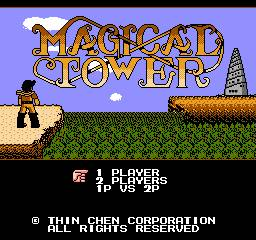Magical Tower per Nintendo Entertainment System