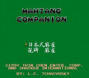 Mahjang Companion per Nintendo Entertainment System
