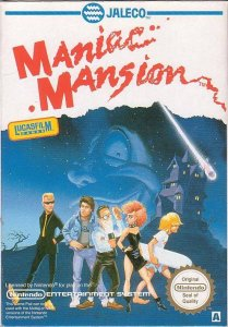 Maniac Mansion per Nintendo Entertainment System