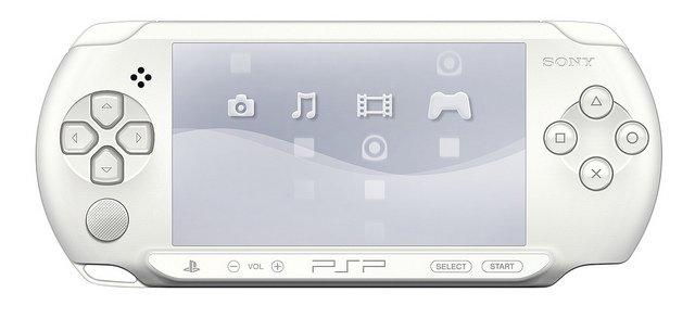 "Una PSP ""Ice White"" in Europa"