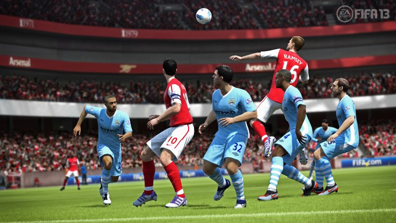 "FIFA 13 è ""ben preparato"" alla concorrenza di PES, dice EA Sports"