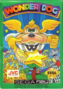 Wonder Dog per Sega Mega-CD