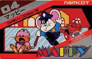 Mappy per Nintendo Entertainment System