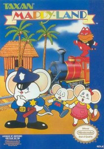 Mappy-Land per Nintendo Entertainment System