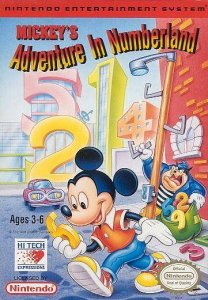 Mickey's Adventures in Numberland per Nintendo Entertainment System