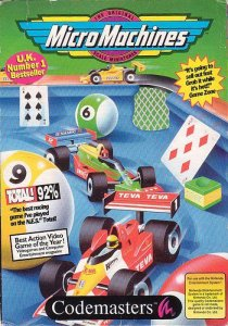 MicroMachines per Nintendo Entertainment System