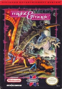 Might and Magic: Book I per Nintendo Entertainment System