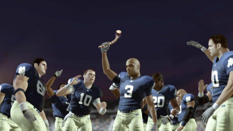La soluzione di NCAA Football 13