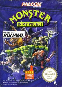 Monster in My Pocket per Nintendo Entertainment System