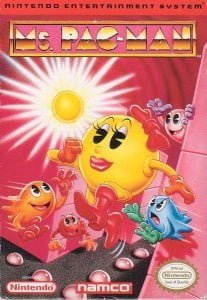 Ms Pac-Man per Nintendo Entertainment System