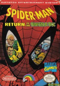Spider-Man: Return of the Sinister Six per Nintendo Entertainment System