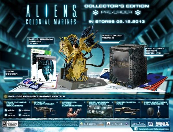 Aliens: Colonial Marines - Ecco la Collector Edition