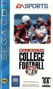 Bill Walsh College Football per Sega Mega-CD