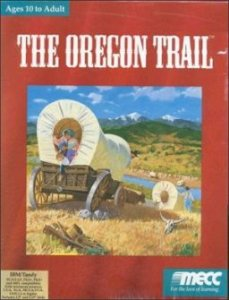 The Oregon Trail per PC MS-DOS