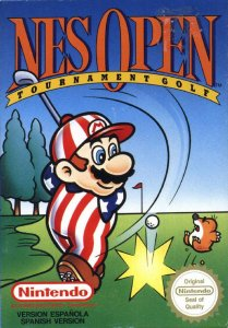 NES Open Tournament Golf per Nintendo Entertainment System