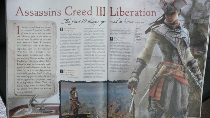 [aggiornata] Rivelato Assassin's Creed III: Liberation per PlayStation Vita