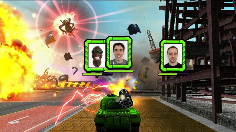 Carri armati sul Gamepad