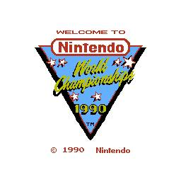 Nintendo World Championships 1990 per Nintendo Entertainment System