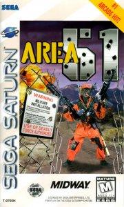 Area 51 per Sega Saturn