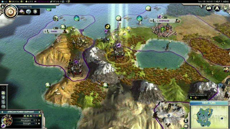 La Soluzione di Sid Meier's Civilization V: Gods & Kings