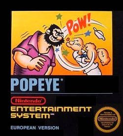 Popeye per Nintendo Entertainment System