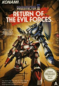 Probotector II: Return of the Evil Forces per Nintendo Entertainment System