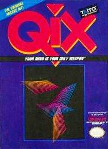 Qix per Nintendo Entertainment System