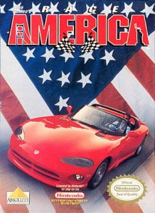 Race America per Nintendo Entertainment System