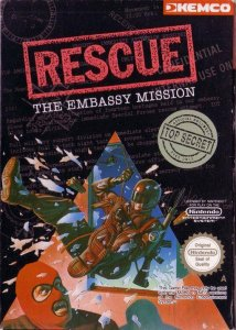 Rescue: The Embassy Mission per Nintendo Entertainment System