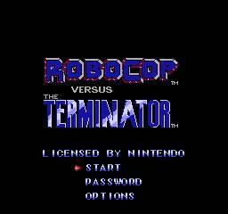 Robocop Vs Terminator per Nintendo Entertainment System