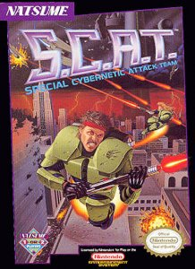 S.C.A.T.: Special Cybernetic Attack Team per Nintendo Entertainment System