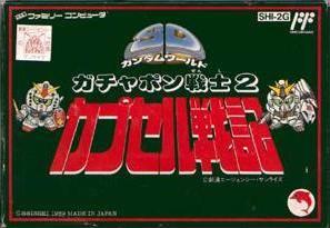 SD Gundam Gachapon Senshi 2: Capsule Senki per Nintendo Entertainment System