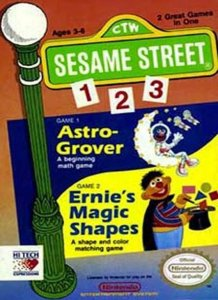 Sesame Street 1-2-3 per Nintendo Entertainment System