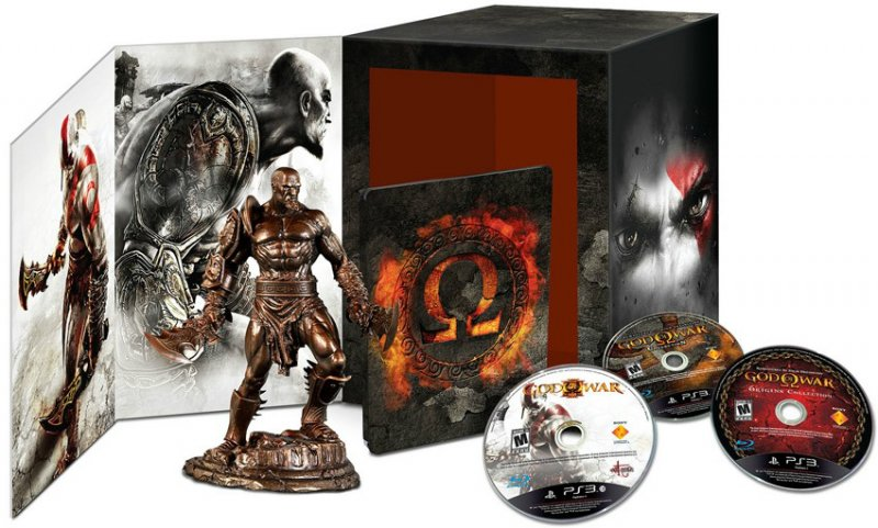 God of War - Omega Edition avvistata con le due collection insieme