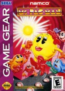 Ms Pac-Man per Sega Game Gear