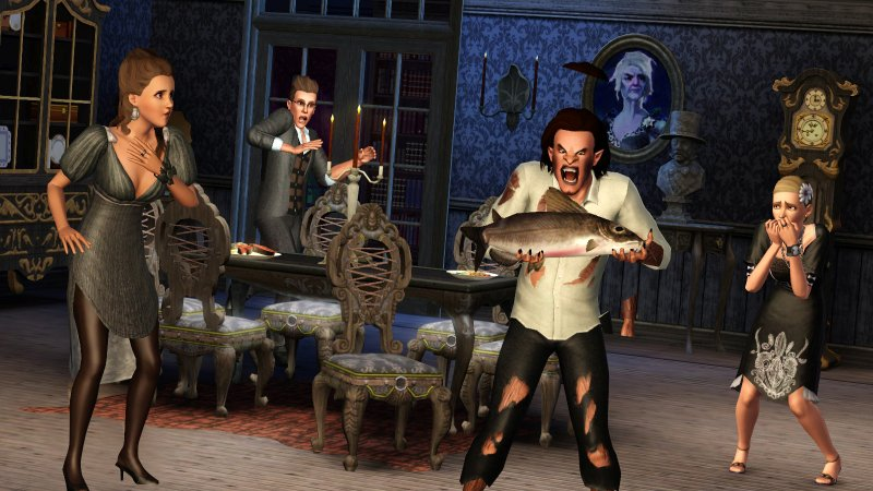 Plants Vs. Zombies invade The Sims 3: Supernatural