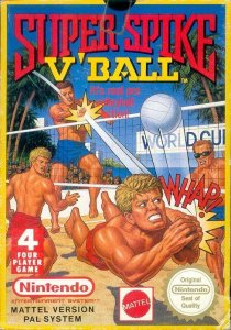 Super Spike V'Ball per Nintendo Entertainment System