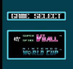 Super Spike V'Ball / World Cup Soccer per Nintendo Entertainment System