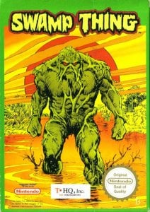 Swamp Thing per Nintendo Entertainment System