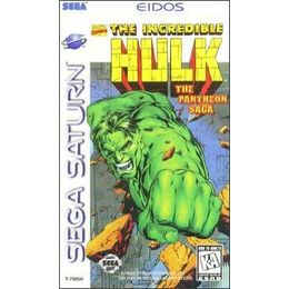 The Incredible Hulk: The Pantheon Saga per Sega Saturn