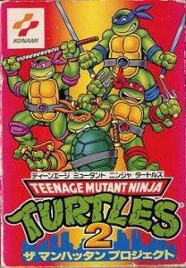 Teenage Mutant Ninja Turtles 2 per Nintendo Entertainment System